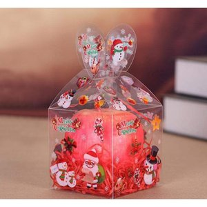 Many Styles Pvc Transparent Candy Box Christmas Decoration Gift Box And Packaging Santa Claus Snowman Elk Reindeer jllVPh soif
