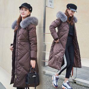 Womens Down Jacket Parkas Fashion Women Winter Jacket Fur Coat Winter Coat Outerwear With Hood Fur Jacket