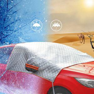 148x240cm Windscreen Cover Car Window Screen Sunlight Frost Ice Snow Dust Protector Heat Sun Mat Support Dropshipping Csv#LR3