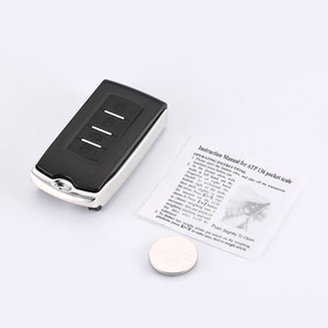Mini Precision Digital Pocket Scale Car Key Shape Portable Jewelry Scale Electronic Balance Scale Weight Tool 100g 200g 0.01g