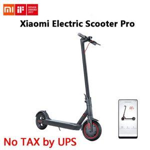 Original Xiaomi Mijia Pro Elektrischer Roller Mijia Faltbare Longboard Hoverboard Skateboard 45km Kilometerwälder Erwachsene 2-Rad mit App