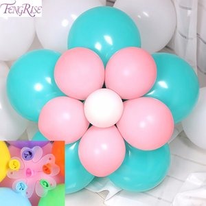 Fengrise Balloons Clips Plastic Seal Ballons Accessories Wedding Birthday Party Decoration Fixed Balloon Chain Diy Supplies wmtfKX