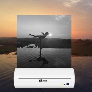 الطابعة المحمولة طابعة محمولة مصغرة ل A4 ورقة بلوتوث آلة طباعة الصور الهاتف المحمول A4 استلام الحرارية 1
