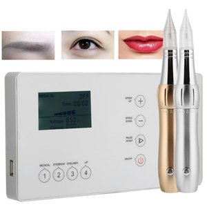 MTS Electric Pereless Tattoo Machine Полупоместичный туман бровей для глаз дрейф для губ Tattoo Beauty Instrument US Plug 100-240V NEW