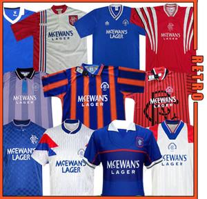 Glasgow Rangers Retro 1987 1990 1992 1994 1995 1996 Chandails édition spéciale 92 94 bleu kits vintage GASCOIGNE classique chemises de football