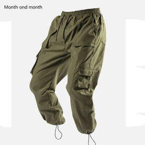 Uomini Pantaloni felpa casual in esecuzione Joggers Sport Gym pantaloni fitness Bodybuilding pantaloni Moda Streetwear Cargo Pants Hallen