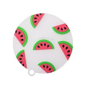 Silikon Yalıtım Placemat Yaratıcı Ev Meyve Kaymaz Coaster Askable Yüksek Sıcaklık Yumuşak Çay Coaster Masa Dekorasyon YYF4384