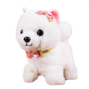 Enfants Interactive Sound Dog Jouets en peluche électronique Puppy Pet promenade Bark Robot Dog jouets pour les enfants Garçons Filles cadeaux d'anniversaire LJ201105
