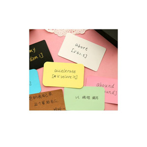 6packs Candy Color Blank Kraft Paper Card Message Memo Wedding Party Gift Thank You Cards Label Bookmarks Learni bbyupT