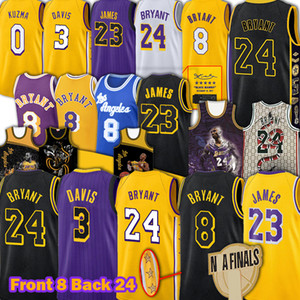 James LeBron James Bryant maglie Los Angeles