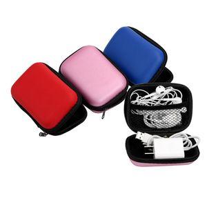 For USB Cable Earphone Digital Storage Bag Travel Kit Case Pouch Electronics Accessories Organizer Earphone Bag Portable