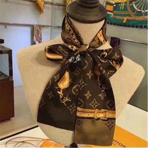 Дизайнер шелк Длинный шарф для женщин Горячей Продажи Brand Letter Printed шарфы шаль пашмины Летней Большого Хиджаб Платков для дадут 180x90cm.