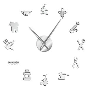 DIY Giant Wall Clock Wall Sticker Home Decor Living Room Bedroom Decals Poster Office Decor Home Decoration Gift Wallpaper