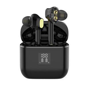 Écouteur Bluetooth Mini stéréo pour Samsung Galaxy iPhone TWS Edrombs sans fil Casque de sport avec MIC pour iOS Android
