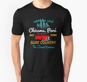 Men tshirt The Great Kahuna Chicama Peru Country Surf T Shirt Printed T-Shirt tees top