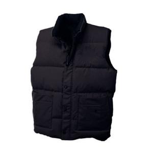 Invierno preferido Canadá marca gruesa mujer caliente moda ropa exterior abrigos de alta calidad clásico diseño hombres chaleco ganso abajo chaqueta envío rápido