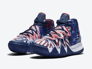 Kutu Yeni Kyrie 3 EP Bruce Lee Trainer Sneakers Boyutu 7-12 ile 2020 Kyrie S2 Hibrid Batik Erkekler Basketbol Ayakkabı