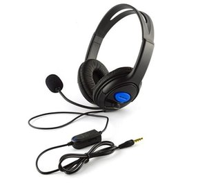 Wired Gaming Headset Earphones game Headphones with Microphone Mic Stereo Supper Bass For Sony PS4 PlayStation 4 Gamers