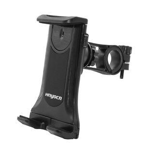7-12inch Treadmill Tablet Stand Adjustable Buckle Mount Holder Indoor Gym Handlebar on Exercise Bikes Tablet Bracket for iPad LG