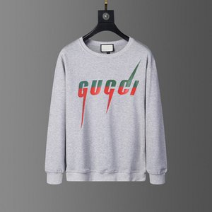 20ss cinza luxo italiana designer de moda marca marca novos senhoras zipper camisola com capuz logotipo da camisola do hoodie roupas masculinas