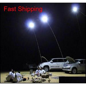 224Pcs Leds Cob 12V Led Telescopic Fishing Rod Outdoor Lantern Camping Light For Road Trip Or Mobile Street Light Flashlight Uzop5