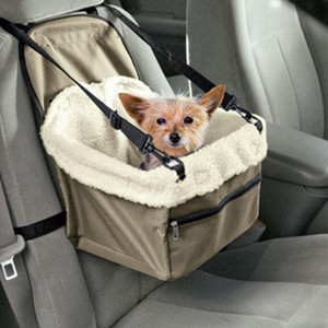 Pet Dog Carrier Car Seat Cover Folding Hammock Winter Warm Dog Carrier Basket Safe Waterproof Puppy Bag Pet Transportion Product