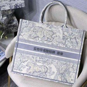 Diseñadores de lujos bolsos París Diseñador Bolsos de diseñador Moda Retro estilo étnico lienzo hecho a mano bordado patrón bolsa