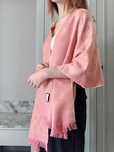 GGшарф 2020 Новый топ высокого качества 100% кашемир дизайнер шарф Лучшие Женщины Человек Luxury Платки Платок бесплатная доставка ahaj
