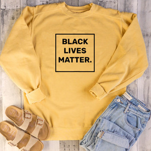 Black Lives Matter Slogan Sweatshirts Vote for Equality Pullover Civil Rights Girl Power Women Clothing Tumblr Outfits Drop Ship