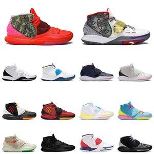 Kyrie 6 homens sapatos de basquete berlim curar o mundo Tóquio tiro relógio oracle aqua oreo cny designer marca mens instrutor esportes sapatilhas