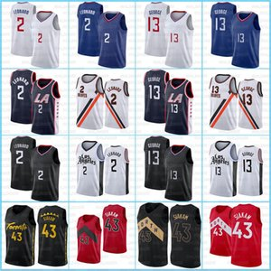 Kawhi 2 Pascal Leonard 43 Siakam Jersey Paul 13 George 2021 New CityTracy 1 McGrady Mens Jersey Vince 15 Carter Basketball Team Jerseys