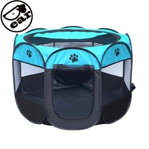 tenda portátil Folding Casa gaiola Cat Dog Playpen filhote de cachorro Kennel Fácil Operação octogonal Cerca Pet fornecimentos