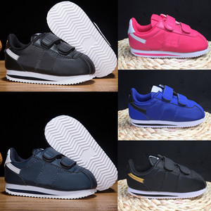 Nike Cortez Basic Kids Running Shoes 2020 vendre en gros enfants enfants CORTEZ BASIC Chaussures gratuit Baskets Chaussures Hight Baskets montantes Boot Eur 22-35
