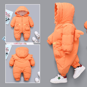 2020 Winter Snowsuit Boy Girls Baby Jacket Duck Down Outdoor Rompers for toddlers Infant Clothes Girls Climbing For Boys Kids Jumpsuit 8823L