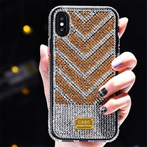 coque iphone 12 pro max phone cases Diamond Glitter Cover iPhone 11 pro max X XS XR xs Max Luxury Bling Funda Cases for iPhone 12 7