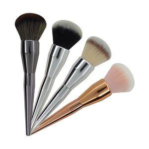 Free shipping wholesale Professional Powder Foundation Cosmetic Single Big Makeup Brush High quality Custom your logo