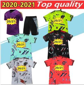 2020 21 Manchester Polo Manga Curta Camisa Calças United Pogba Futebol Treinamento Terno Rashford Lukaku Man Football Polo Camisetas Tracksuit