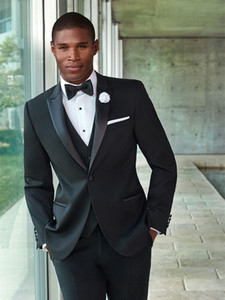 2020 new design for wedding tuxedos 3 piece custom made suits groom wear wool bleed dinner