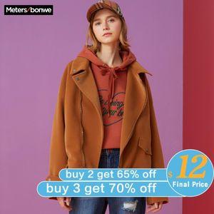 Metersbonwe brand jacket women's spring ins trend casual loose-fitting short coat bf cool jacket trend coat 201019