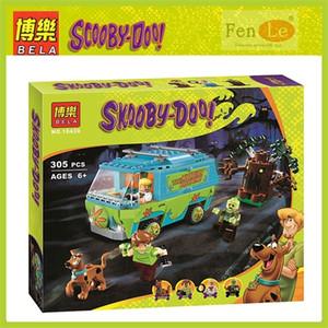 10430 Игрушки 109 шт. Scooby Doo Mommy Музей Музей Строительные Блоки Кирпичи Игрушки для детей Подарок 1008