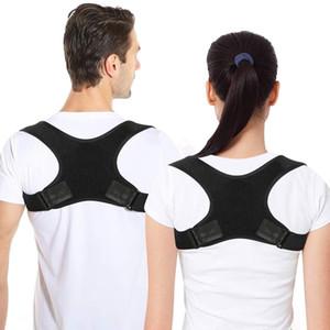 Novo Corretor de Postura Spine Back Ombro Suporte Corretor Faixa Correia Ajustável Correção Correção Humpback Dor Relief
