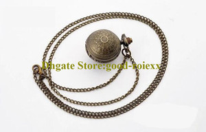Gift Vintage Earth Version Women's Men Pocket Watch Necklace Accessories Sweater Chain Ladies Hanging Mens Quartz Watches AA00165