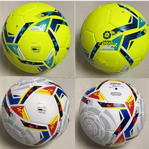 2020 2021 La Liga Lega di alta qualità 20 21 Soccer ball finale Kiev PU taglia 5 palle granuli antiscivolo calcio Free shipping