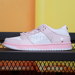 New Staple Dunk SB Low Running Shoes Mens Women Pigeon Black Pink Skateboarding Sport Sneakers Size 36-45