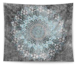 21 Designs Bohemian Mandala Tapestry Beach Hippie Throw Map Yoga Mat Polyester Shawl Multifunctional Bath Towels Wall Hanging Decor OWF2578