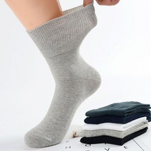 Diabetic Socks Prevent Varicose Veins Socks for Diabetes Hypertensive Patients Bamboo Cotton Material 4 Pairs   Lot 201009