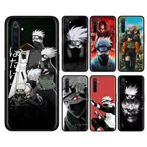 Hatake Animated Kakashi Soft Silicon Mobile Téléphone Case RealMe X50 5G x2 56 Pro XT C3 5i 6i Naruto 10 10A