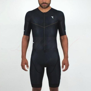 Pro Team Triathlon Endurance swimming Suit Man's Cycling Jersey Skinsuit Jumpsuit Maillot Cycling Ropa ciclismo short sleeve set