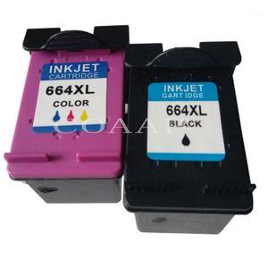 Чернильные картриджи совместимые 664 664XL заправочный картридж для DeskJet 1115 1118 2135 2138 3635 3636 3638 4536 4676 старая версия принтер1