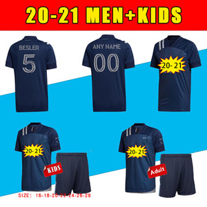 2020 Sporting Kansas City Soccer Technsys 20 21 MLS PULIDO 9 BUSIO 13 Russell 7 Gerso 12 Kinda 15 Джерси Вентиляторы Версия Футбольные рубашки